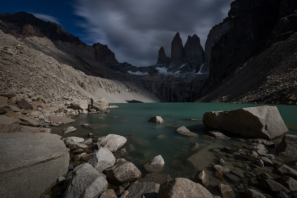 'The Shadow Towers', Parque Nacional Torres Del Paine, Chile, March 2016