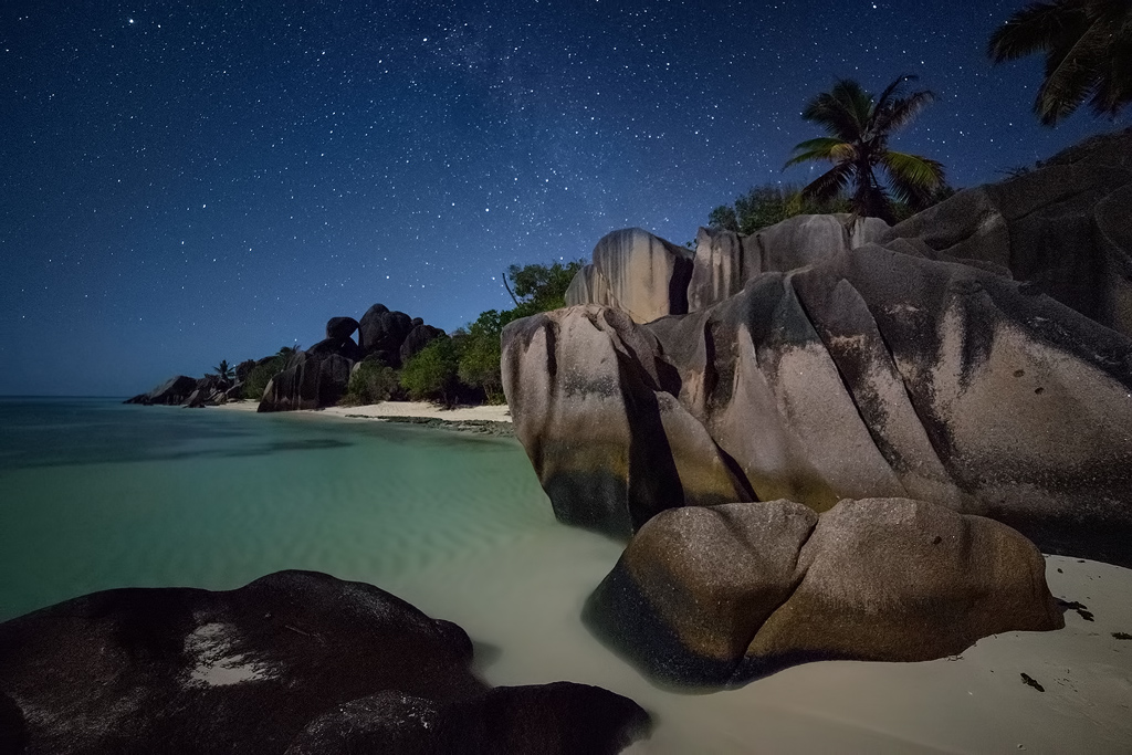'A Night in Paradise', La Digue Island, The Seychelles, October 2013
