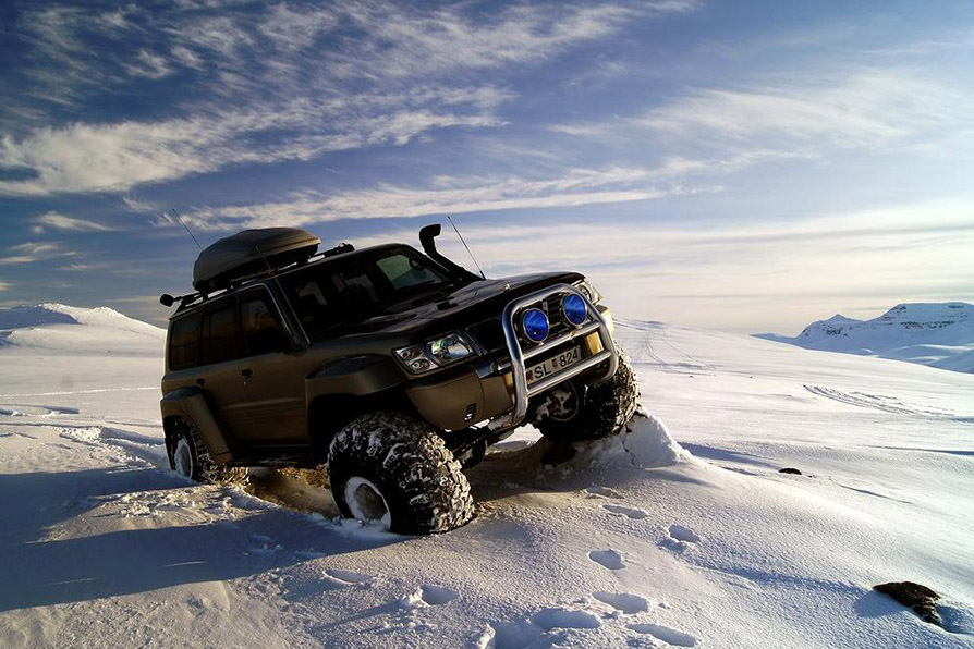 Harsh, snowy terrain is no match for our rugged monsters!