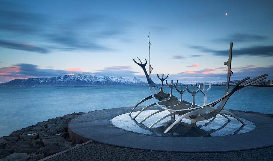 Late afternoon in Reykjavik
